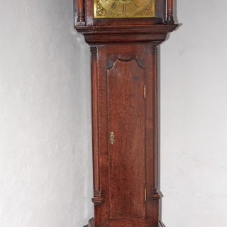 A 18th century oak Longcase clock