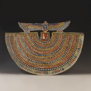 Egyptian Cartonnage Wesekh Collar