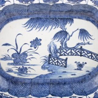 Pair of Qianlong Porcelain Dishes