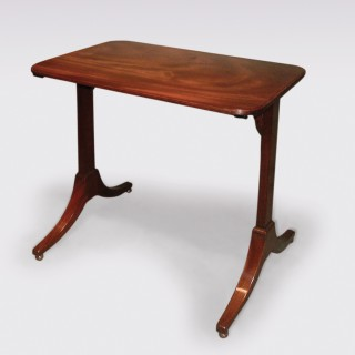 Antique George III mahogany Side Table.