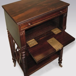 A Regency period rosewood Occasional Table.