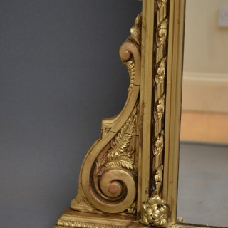 Victorian Giltwood Wall Mirror