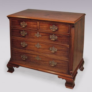 George III period mahogany Chest of Drawers.