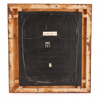 'The Expulsion of Hagar', antique KPM porcelain plaque