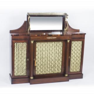 Antique Regency Rosewood Chiffonier Sideboard C1820