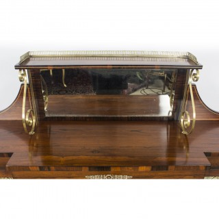 Antique Regency Rosewood Chiffonier Sideboard C1820