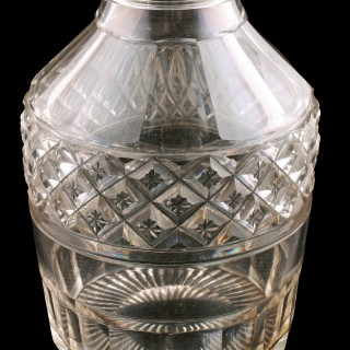 Regency Cut Glass Decanter