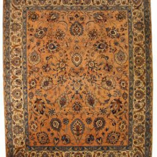 ANTIQUE PERSIAN KASHMAR RUG