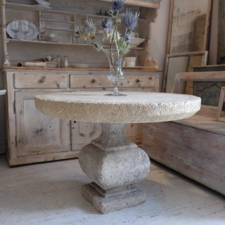 Newly-Made Sandstone Table