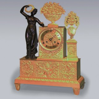 Early 19th Century French 8 day striking Clock.