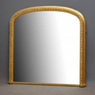 Victorian Gilt Overmantel Mirror