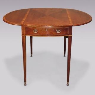 Sheraton period mahogany Pembroke Table.