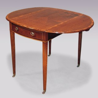 Sheraton period mahogany Pembroke Table.