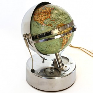 1930 Electric Annual Clock with Globe
