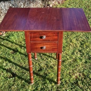 Early 19th Century Regency Period Bedside Cupboard / Wine Table / End Table /  Night Stand