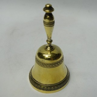 Antique French Silver Table Bell