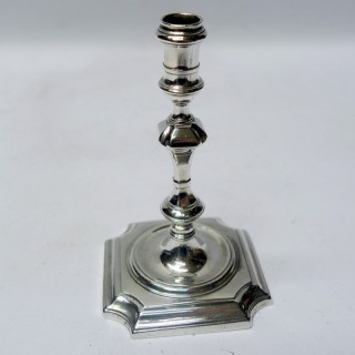 Antique George II Silver Taperstick