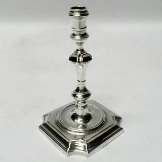 Antique George II Silver Taperstick