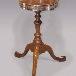 Mid-18th Century Antique Mahogany Kettle Stand