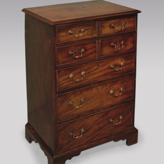 Mid-18th Century Figured Mahogany Chest