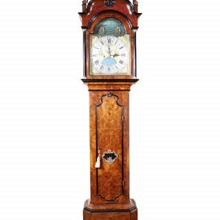 DUTCH MID 18TH CENTURY LONGCASE CLOCK BY  PIETRE & JAN MORJIN