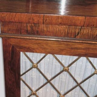 Regency Period Rosewood Two-Door Chiffonier
