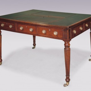 Antique Regency period mahogany Writing Table.