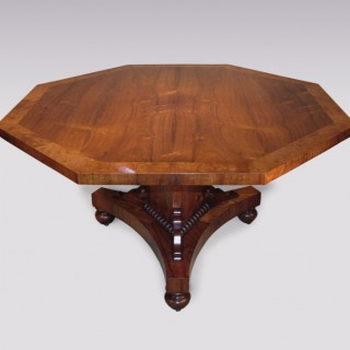 An early 19th century Regency period Rosewood Breakfast Table