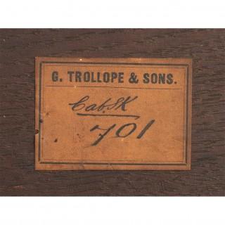 Antique Napoleon III Table en Chiffoniere G.Trollope & Sons 19th C