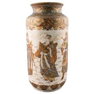 19th Century Japanese Satsuma Vase