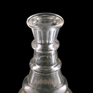 Regency Cut Glass Decanter