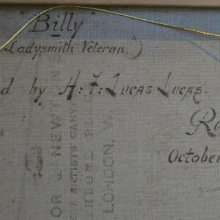 Billy, a Ladysmith Veteran (18th Hussars)
