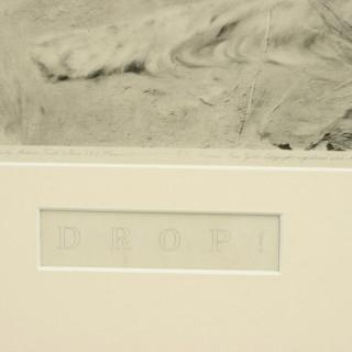 Photogravure by Thomas Blinks, Drop!