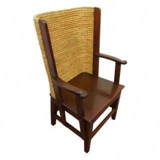 Stained Mahogany Orkney Chair