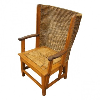 Pine and Stained Beech Orkney Chair