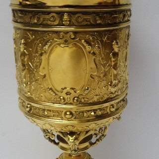 Antique Silver Presentation Cup