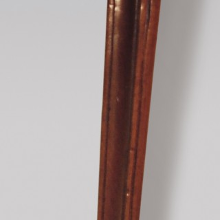 A late 18th Century Hepplewhite mahogany serpentine Card Table.