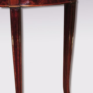 Antique Sheraton period mahogany Card Table.