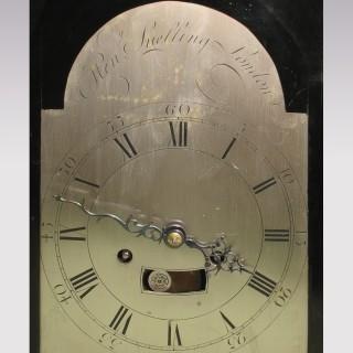 A mid 18th Century Ebonised Bracket Clock.