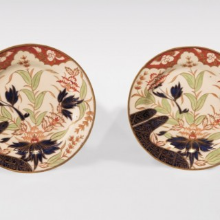 A set of early 19th Century Coalport Dessert Plates.