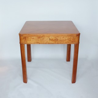 Art Deco Table with Drawer