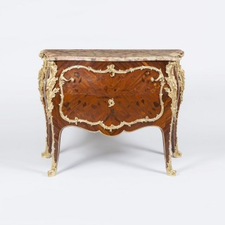 A Fine Commode in the Louis XV Manner