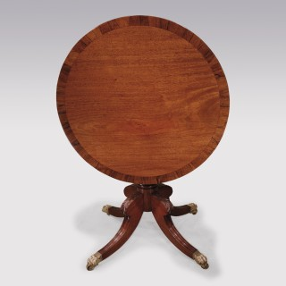 19th century mahogany revolving Occasional Table