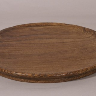 Antique Treen 18th Century Ash Serving Dish