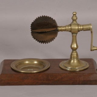 Antique Treen 19th Century Coconut Grater