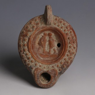 Roman Lamp With Hellenistic Features