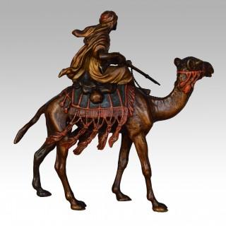 Arab Warrior on Camel