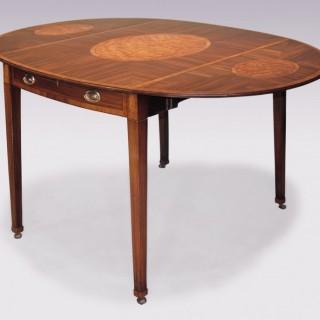 Large 18th Century Mahogany Pembroke Table.