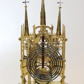Lichfield Cathedral Skeleton Clock  by Smiths, Clerkenwell
