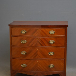 Sheraton Revival Period Chest of Drawers